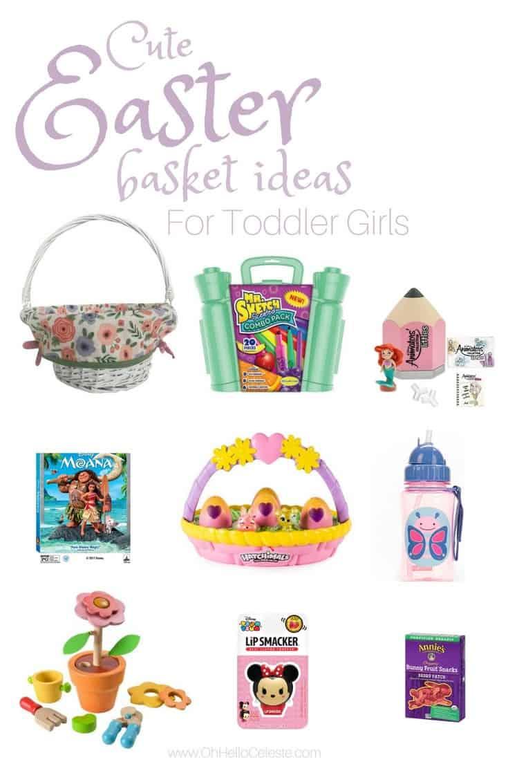 cute easter basket ideas for toddler girls hello celeste