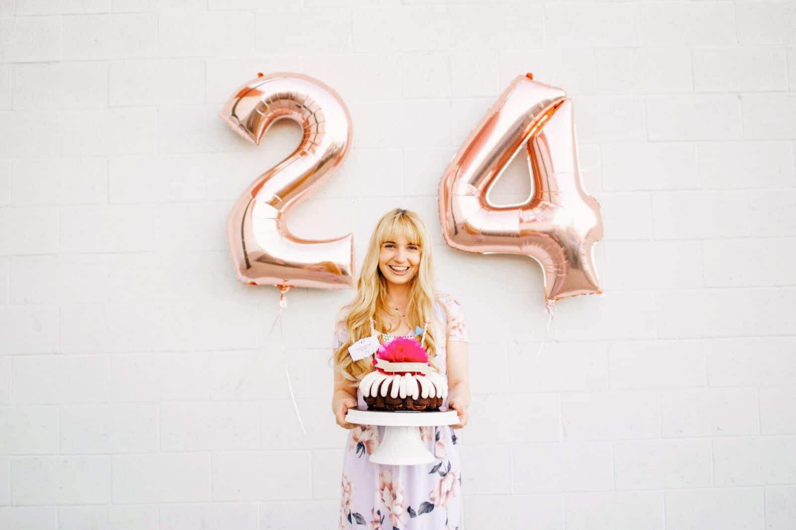 A Nothing Bundt Cake Birthday Hello Celeste