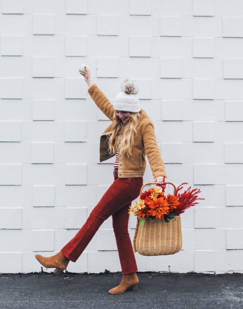 madewell fall outfit trapp candles