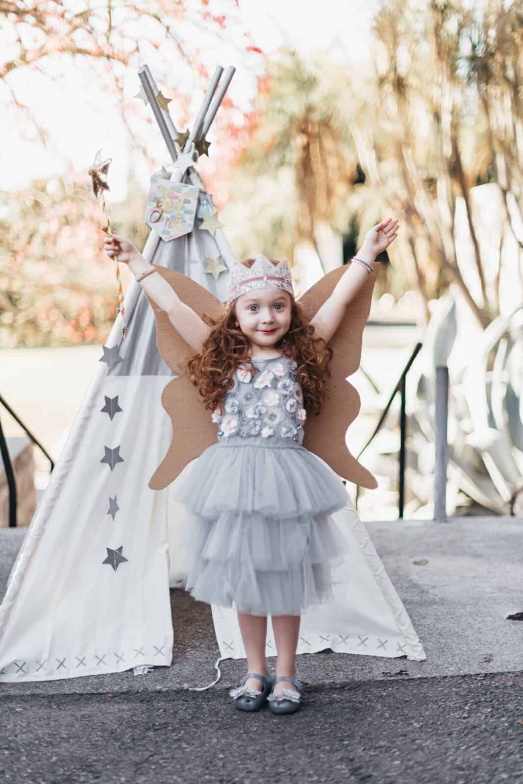 DIY Fairy Princess Costume Using Amazon Smile Boxes