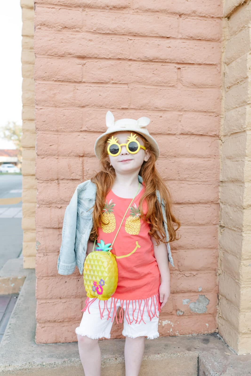Pineapple Polly Pocket Purse