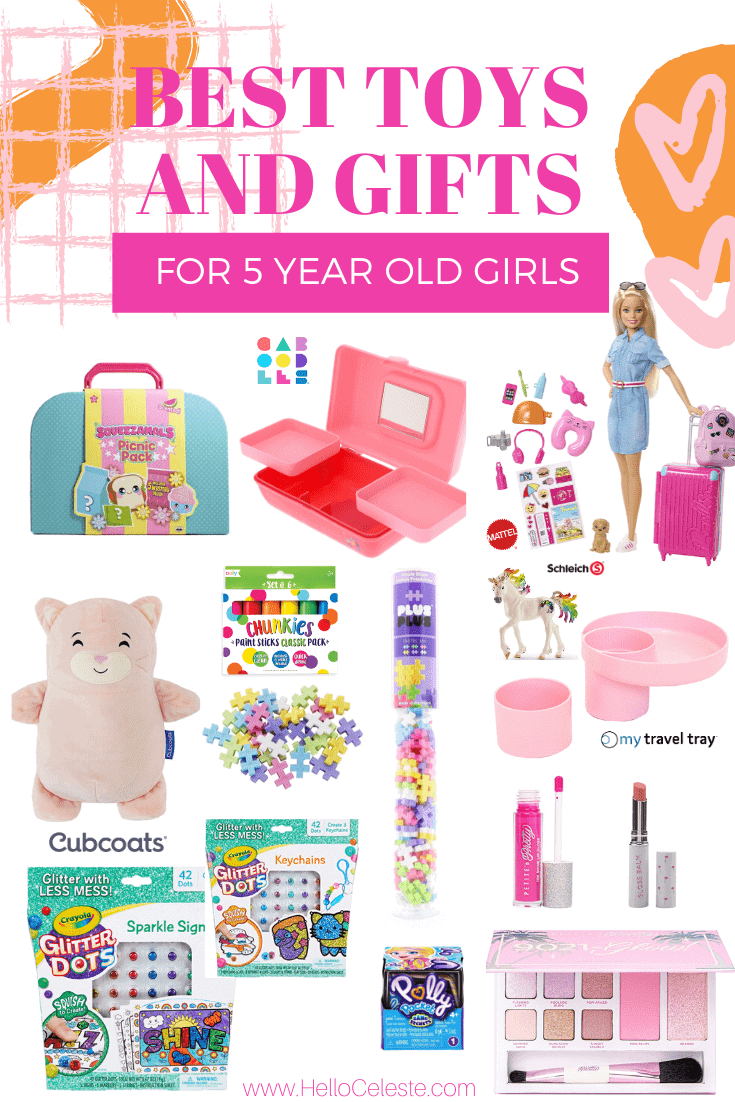 BEST TOYS AND GIFTS FOR 5 YEAR OLD GIRLS