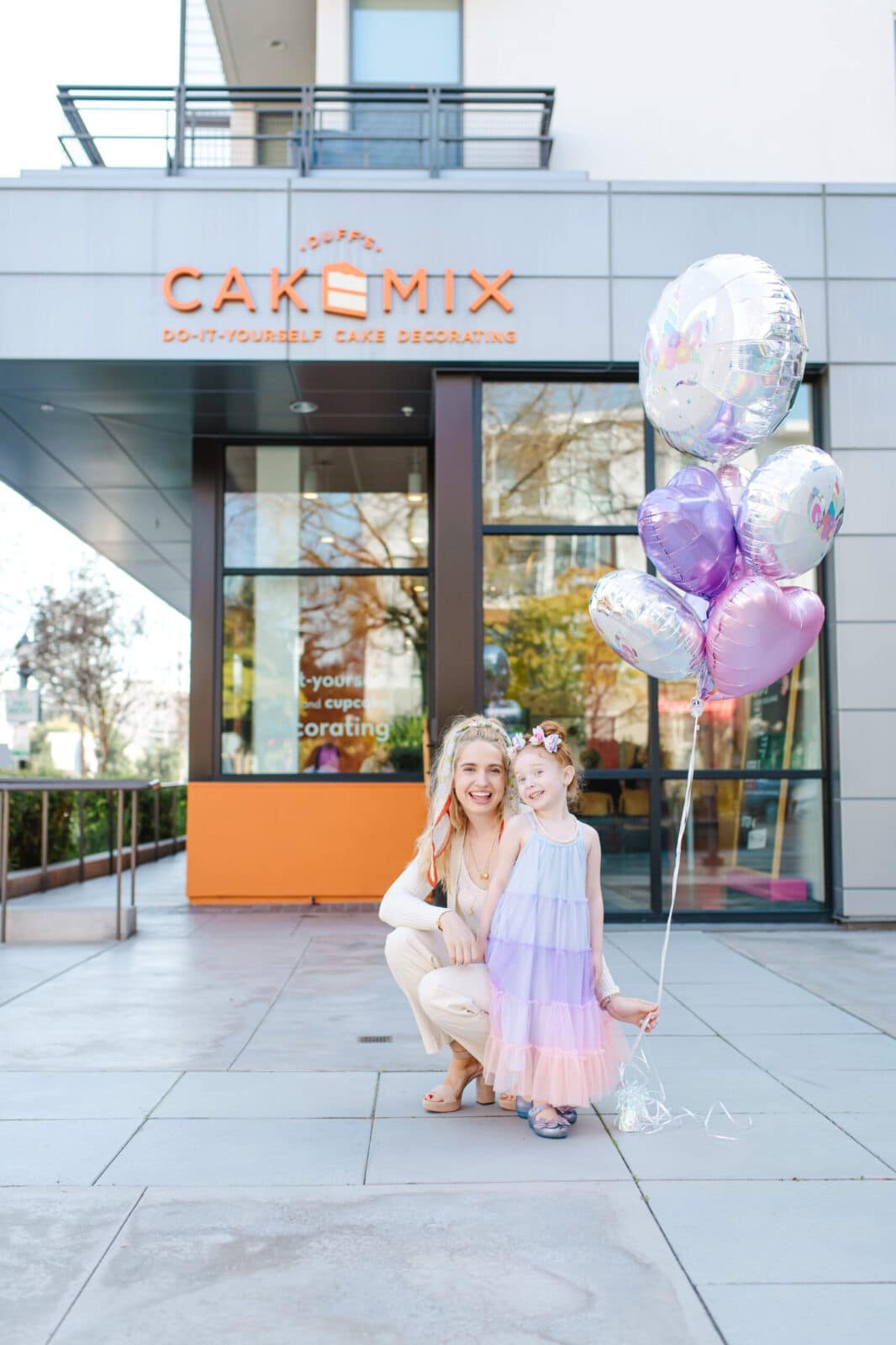 Lila's 5th Birthday At Duff's Cakemix