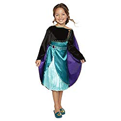 Frozen 2 Queen Anna Dress for Girls