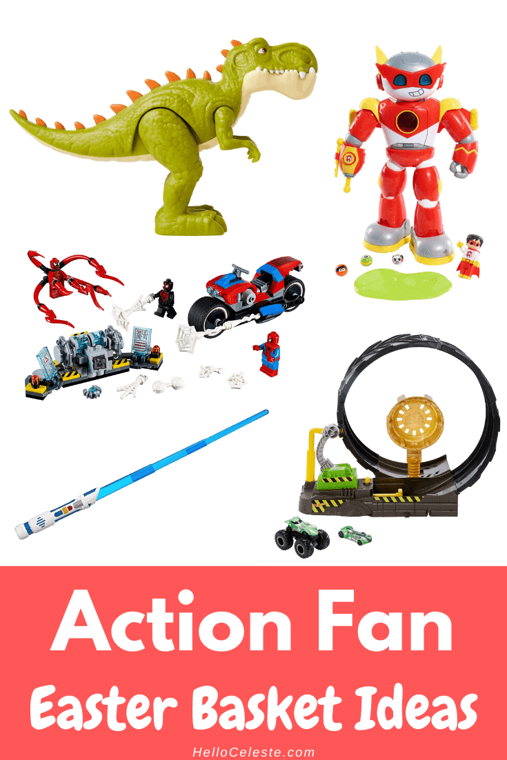 action fan Easter Basket Ideas