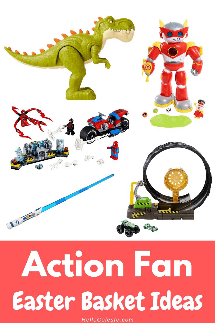 action fan Easter Basket Ideas