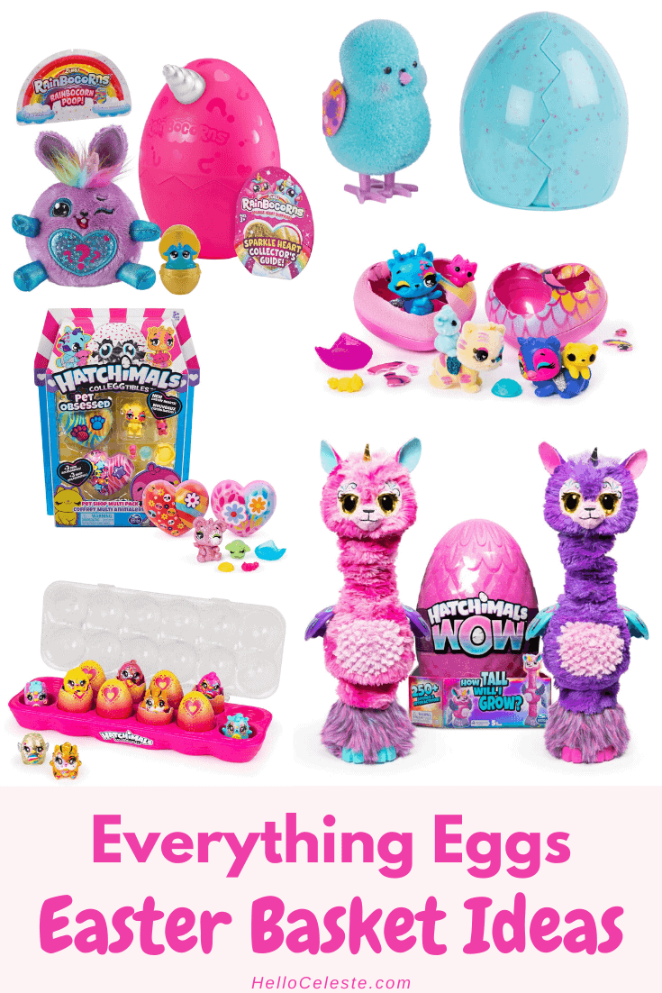 everything eggs Easter Basket Ideas