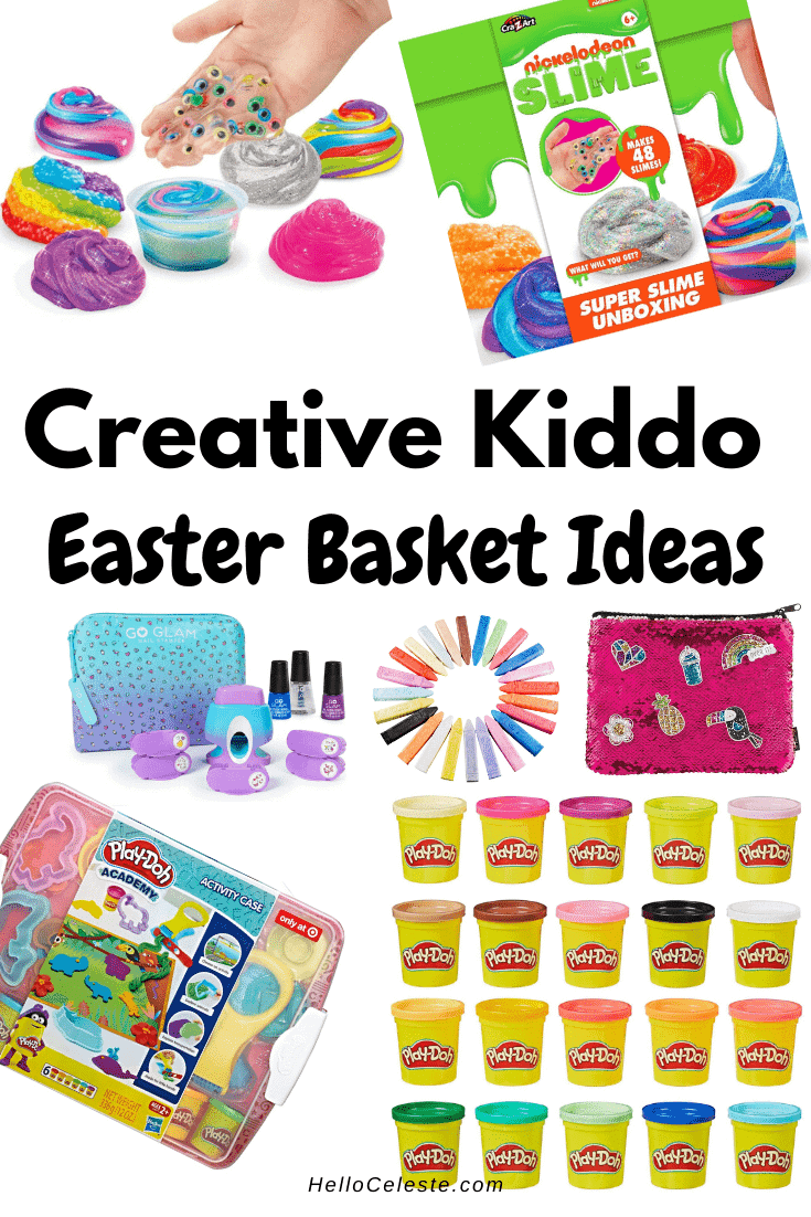 creative kiddo Easter Basket ideas