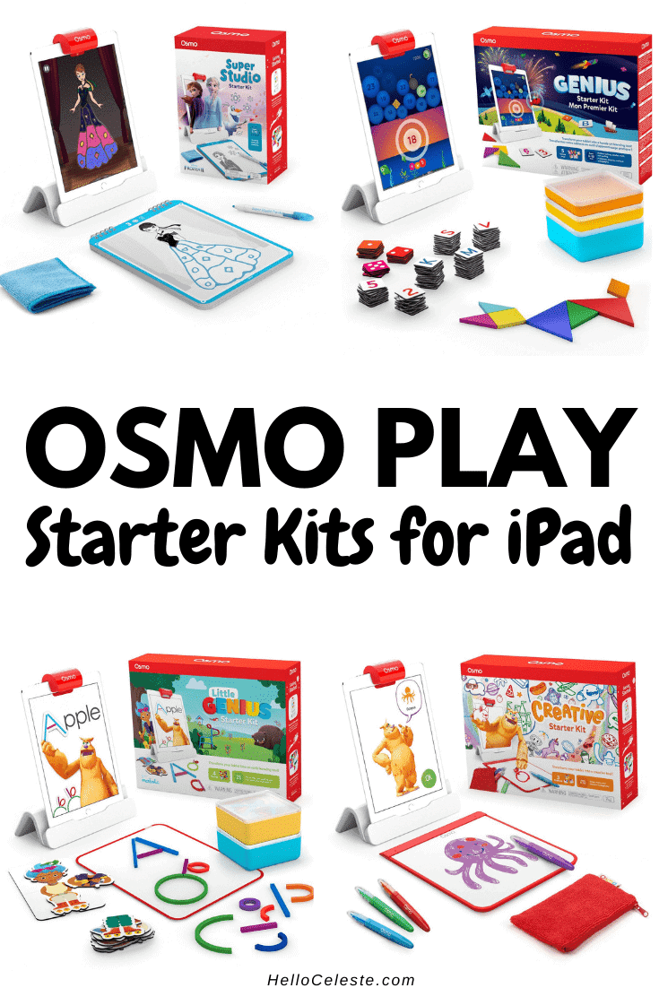 Osmo play starter kits for iPad