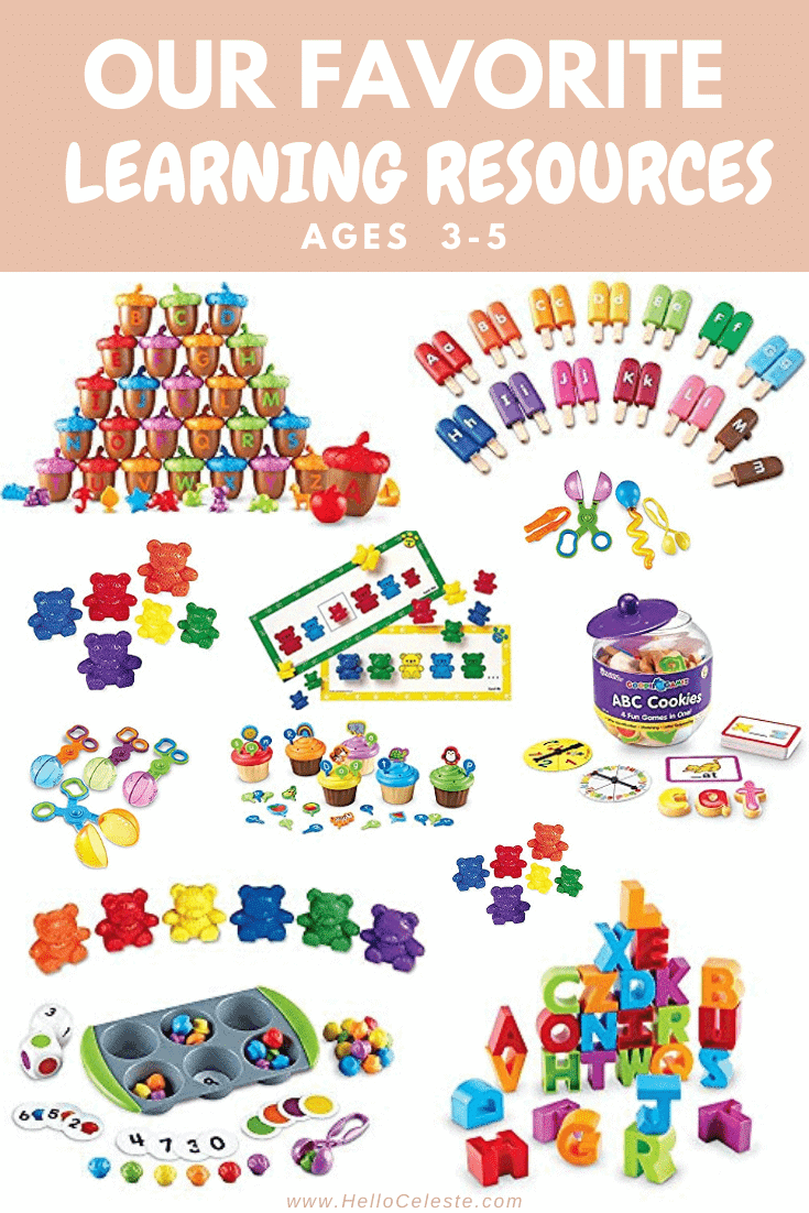 Our Favorite Learning Resources Age 5