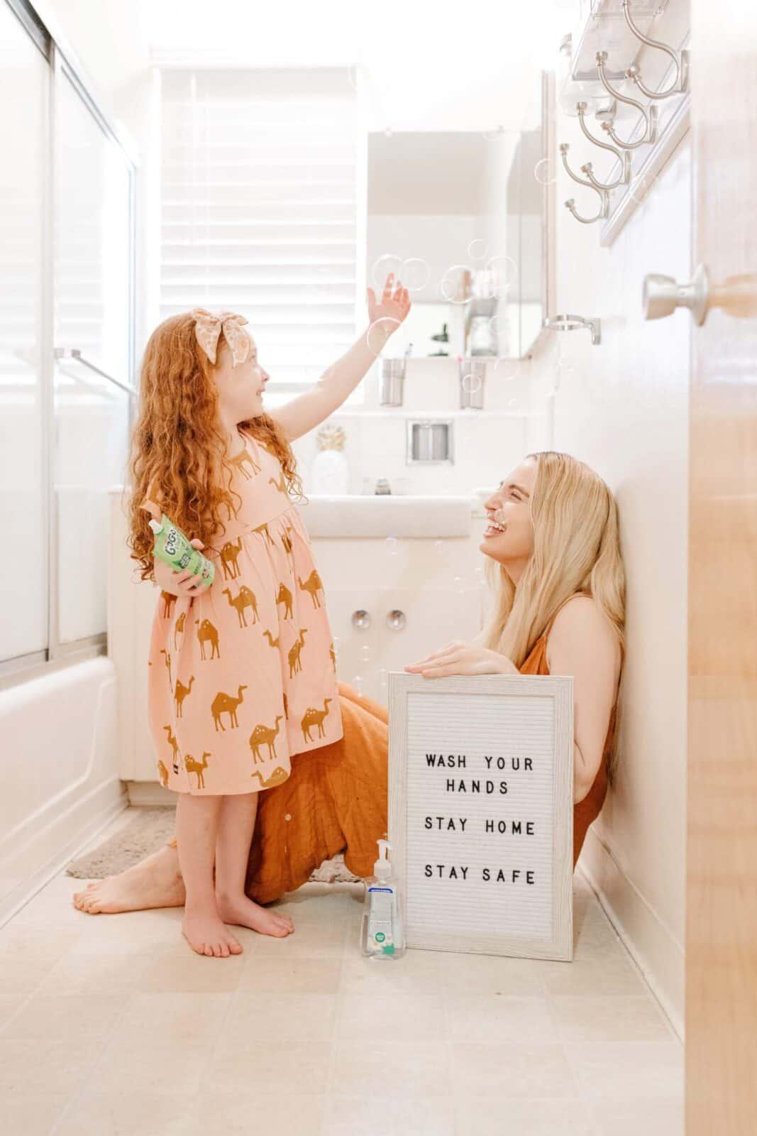 wash your hands stay safe safe