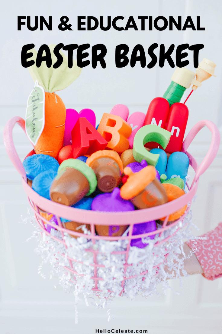 homeschooling fun and educational gift basket