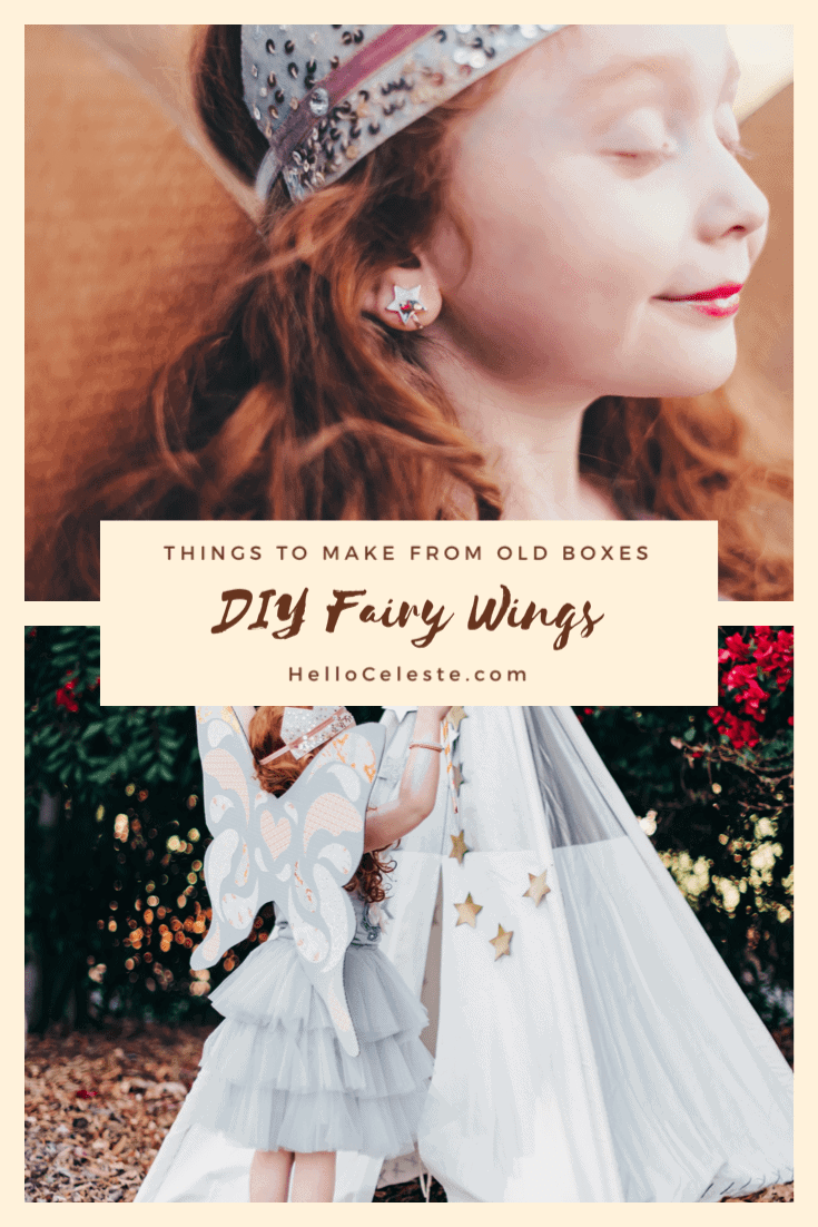 diy fairy wings from amazon boxes