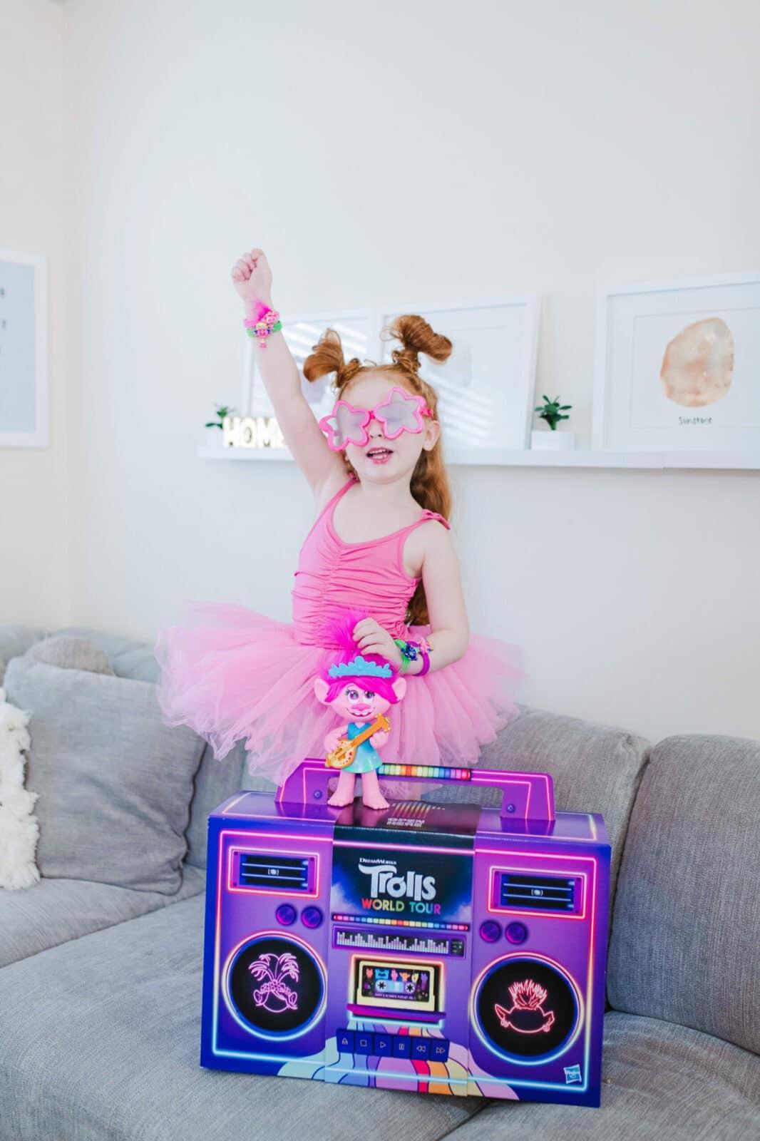 poppy trolls world tour plum NYC tutu