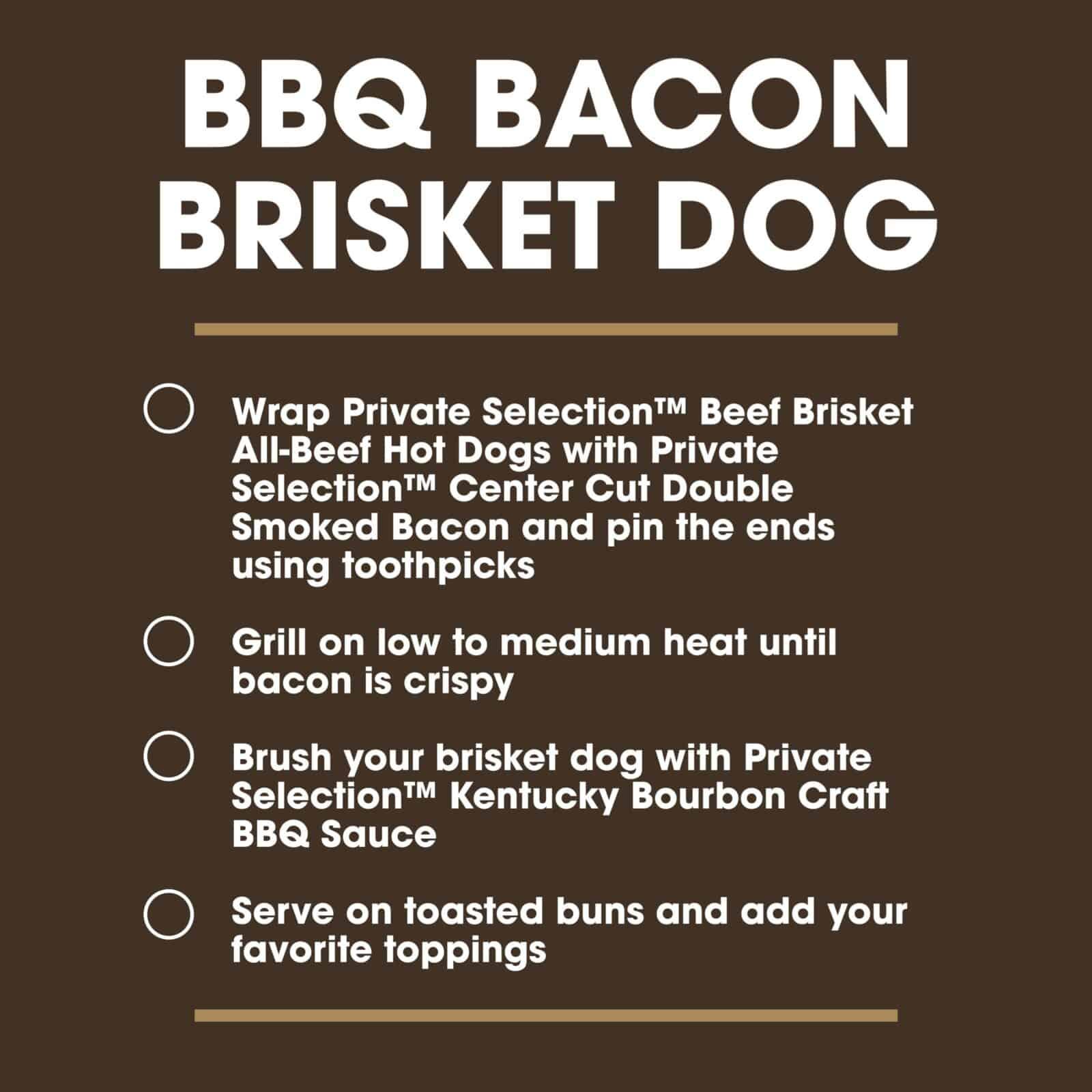 BBQ Bacon Brisket Dog