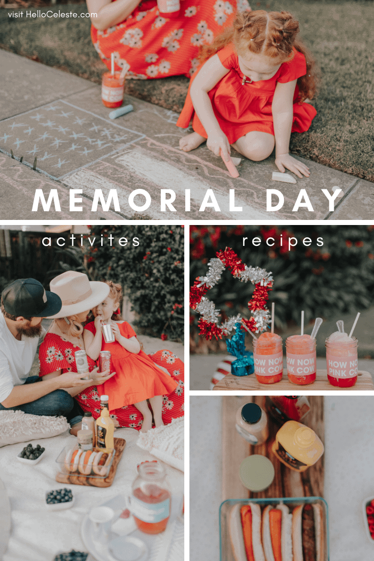 memorial day recipes and activities