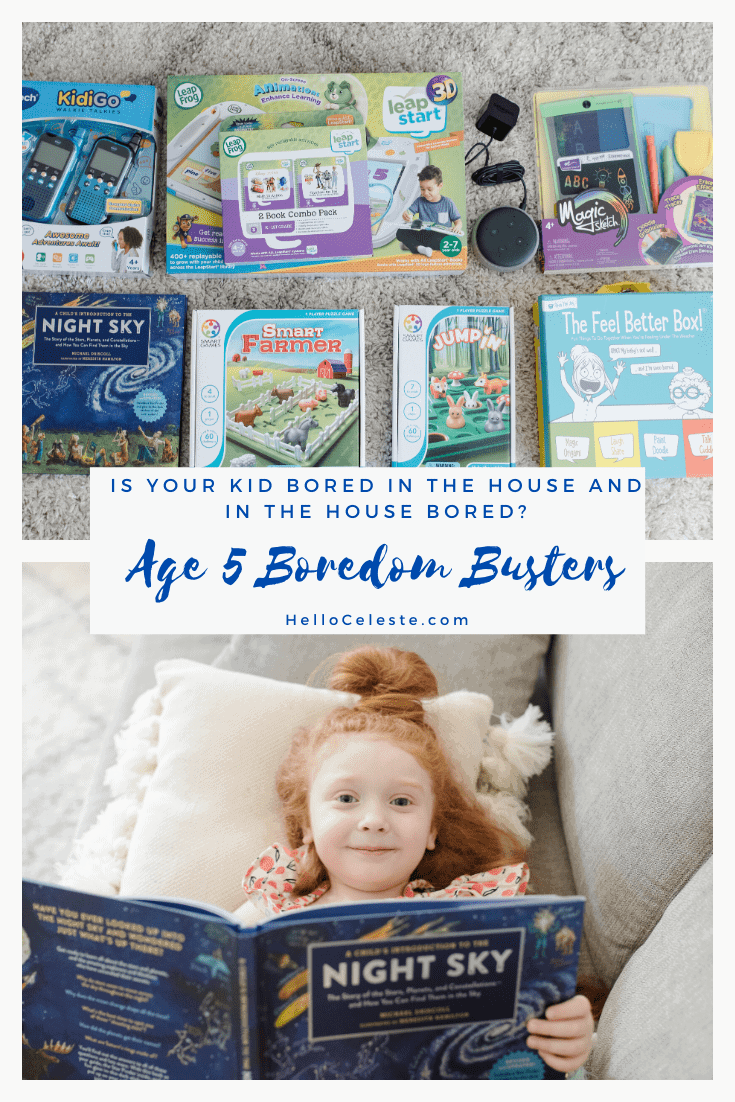 age 5 boredom busters