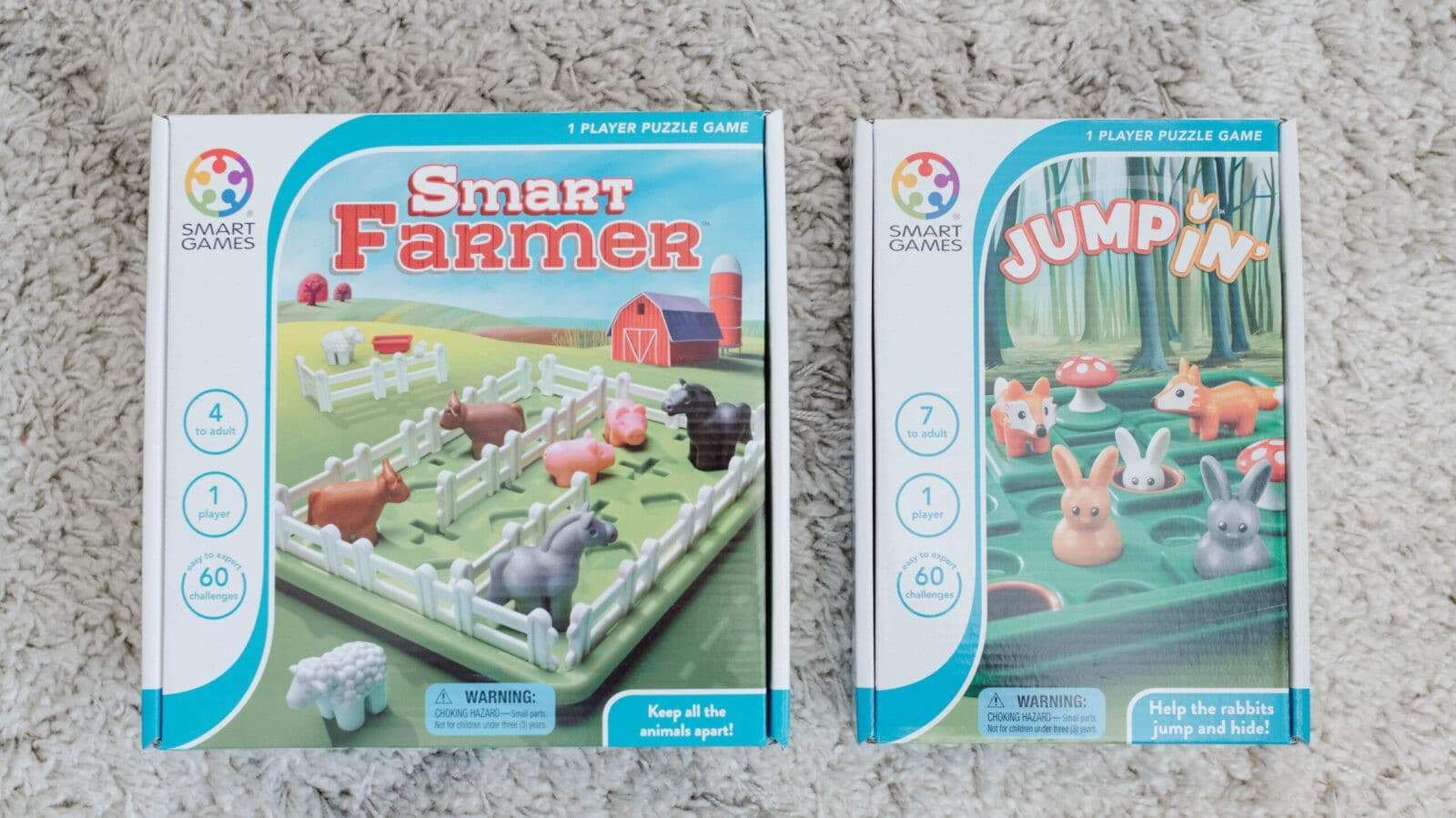 SmartGames Smart Farmer and Jumpin