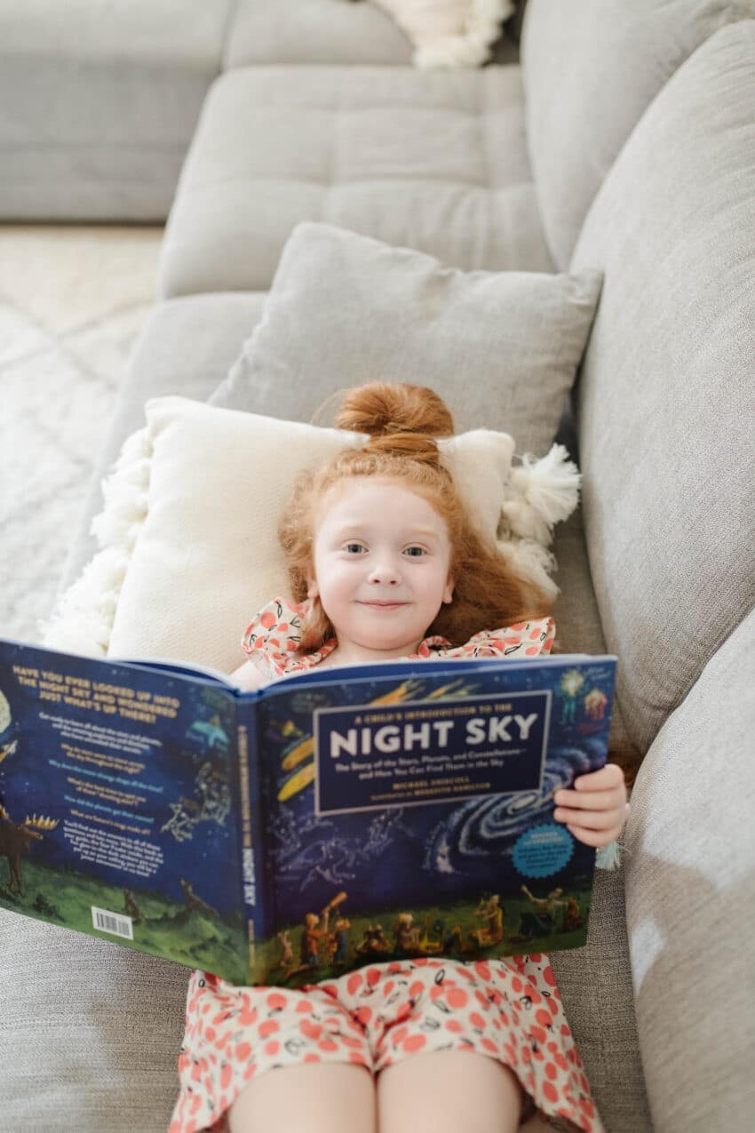 night sky planets book