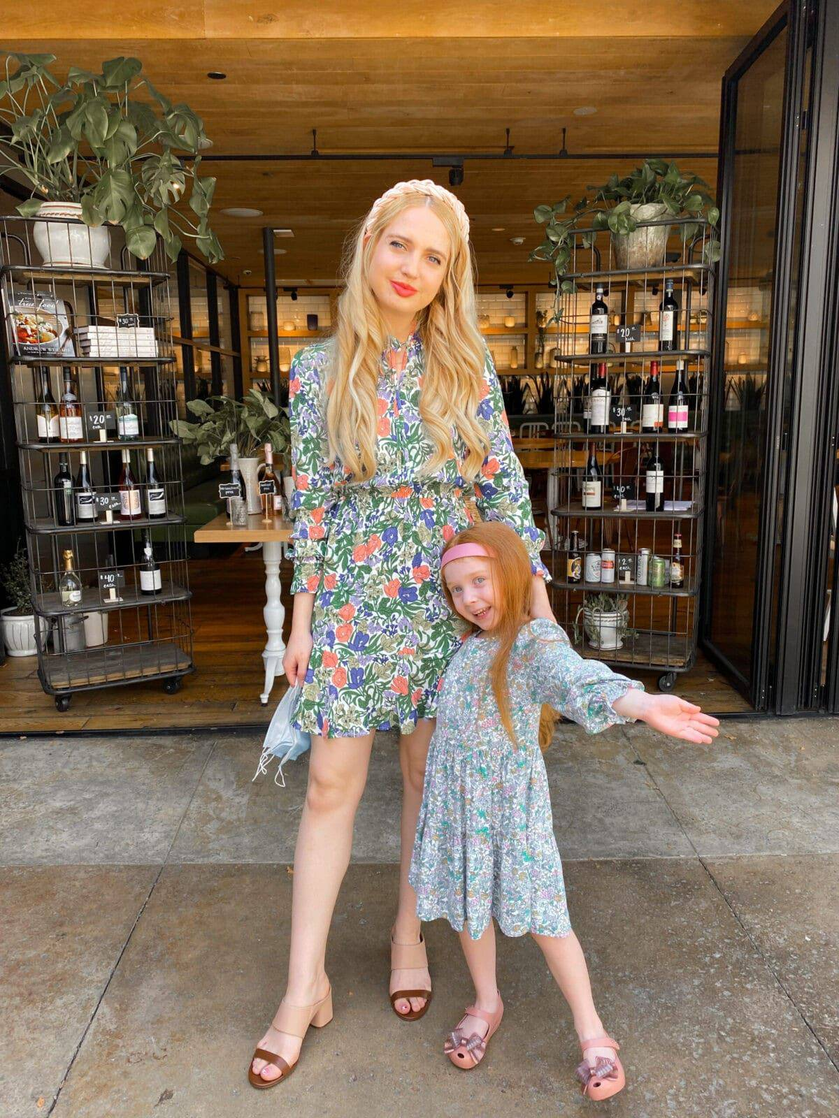 marks and Spencer mommy and daughter
