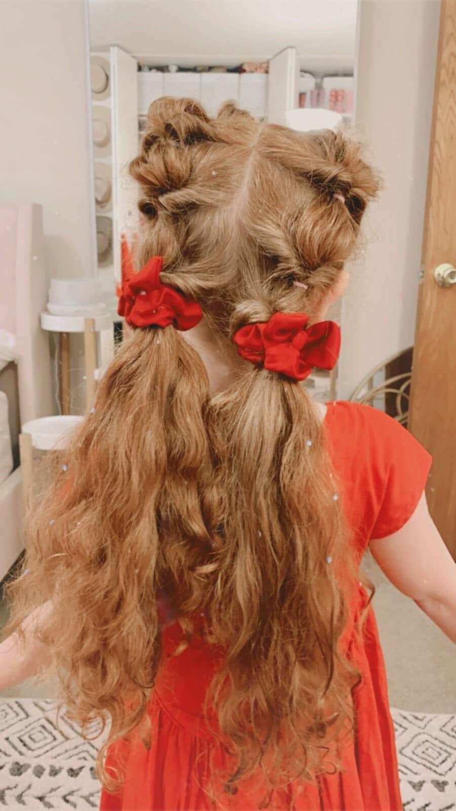 Girls Summer Hairstyle Tutorial
