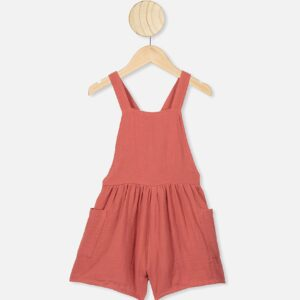 Tilly Playsuit in red brick