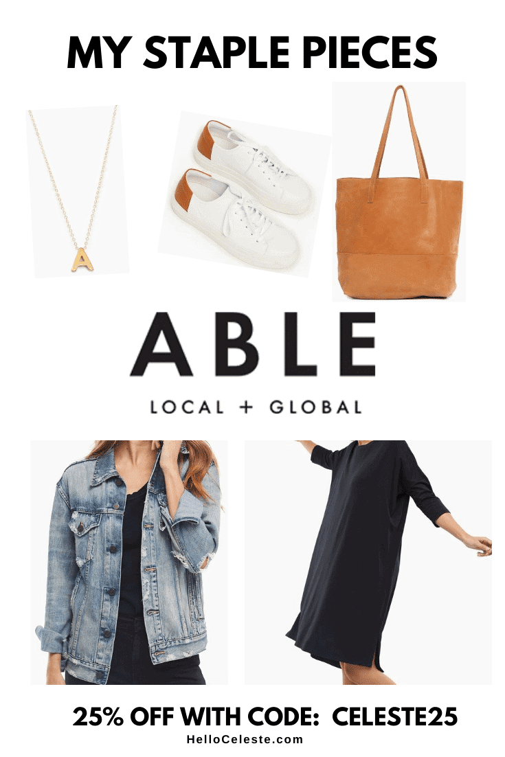 My Favorite Wardrobe Staples From Able