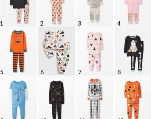 Fifteen Affordable Halloween Pajamas For Kids