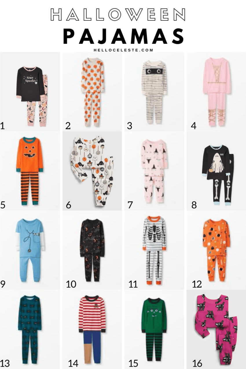 Sixteen Affordable Halloween Pajamas For Kids