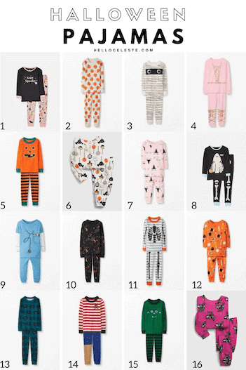 Fifteen Affordable Halloween Pajamas For Kids