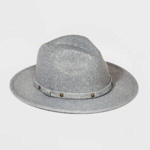 Girls' Studded Band Floppy Hat - art class™ Gray