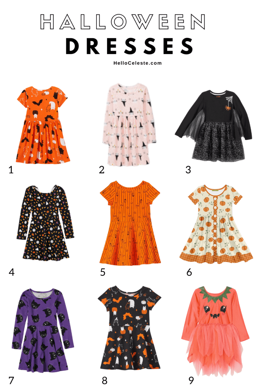 Nine Affordable Halloween Dresses For Girls