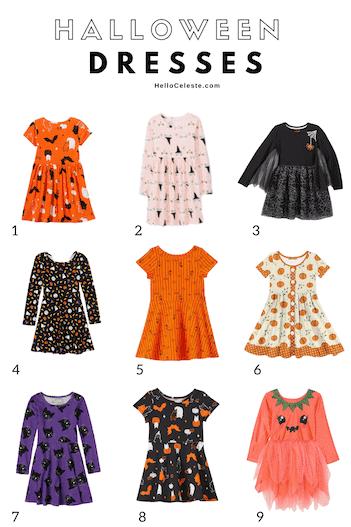 Nine Affordable Halloween Dresses For Girls