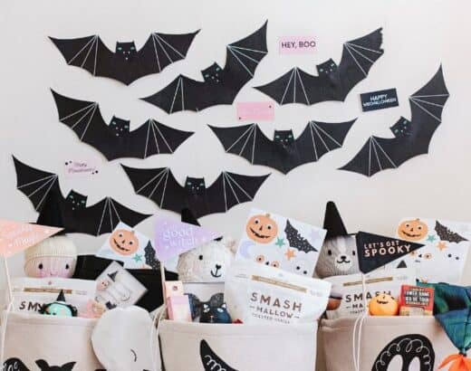 halloween baskets for kids