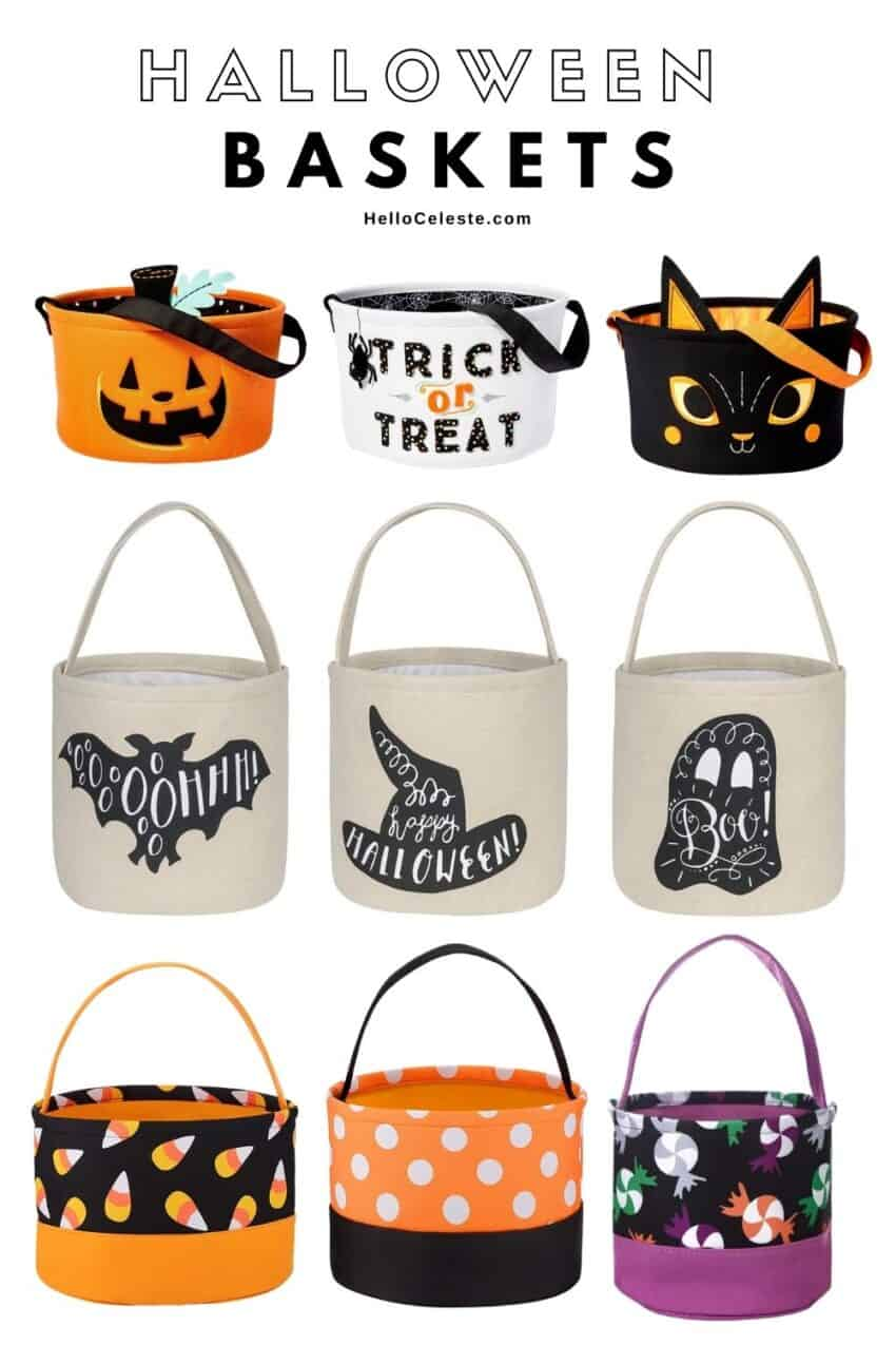 Affordable Halloween Baskets For Kids