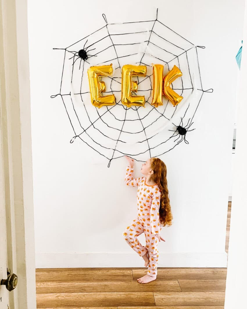 DIY: SPOOKtacular Rope Spider Web (under $20)