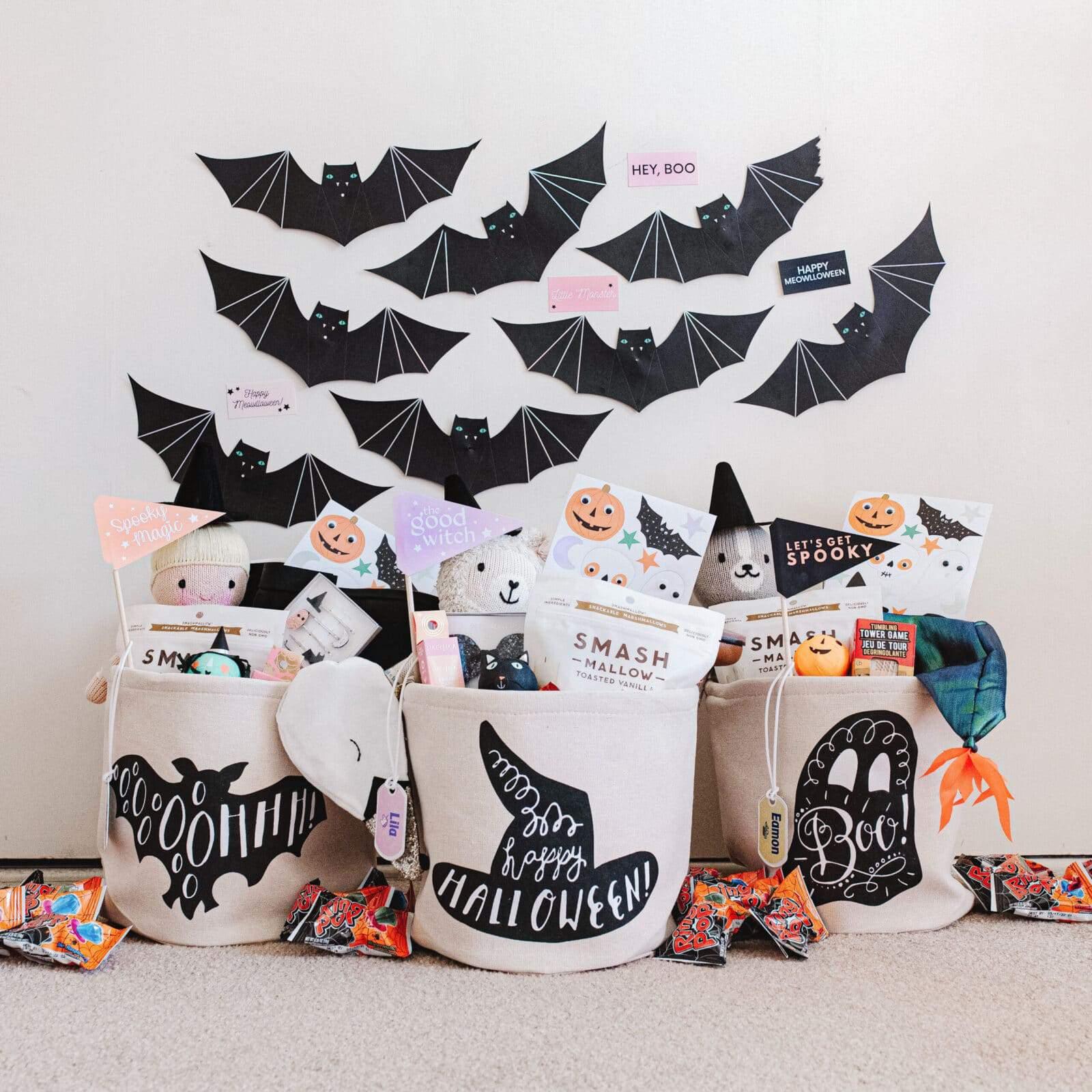 Halloween Baskets 2020