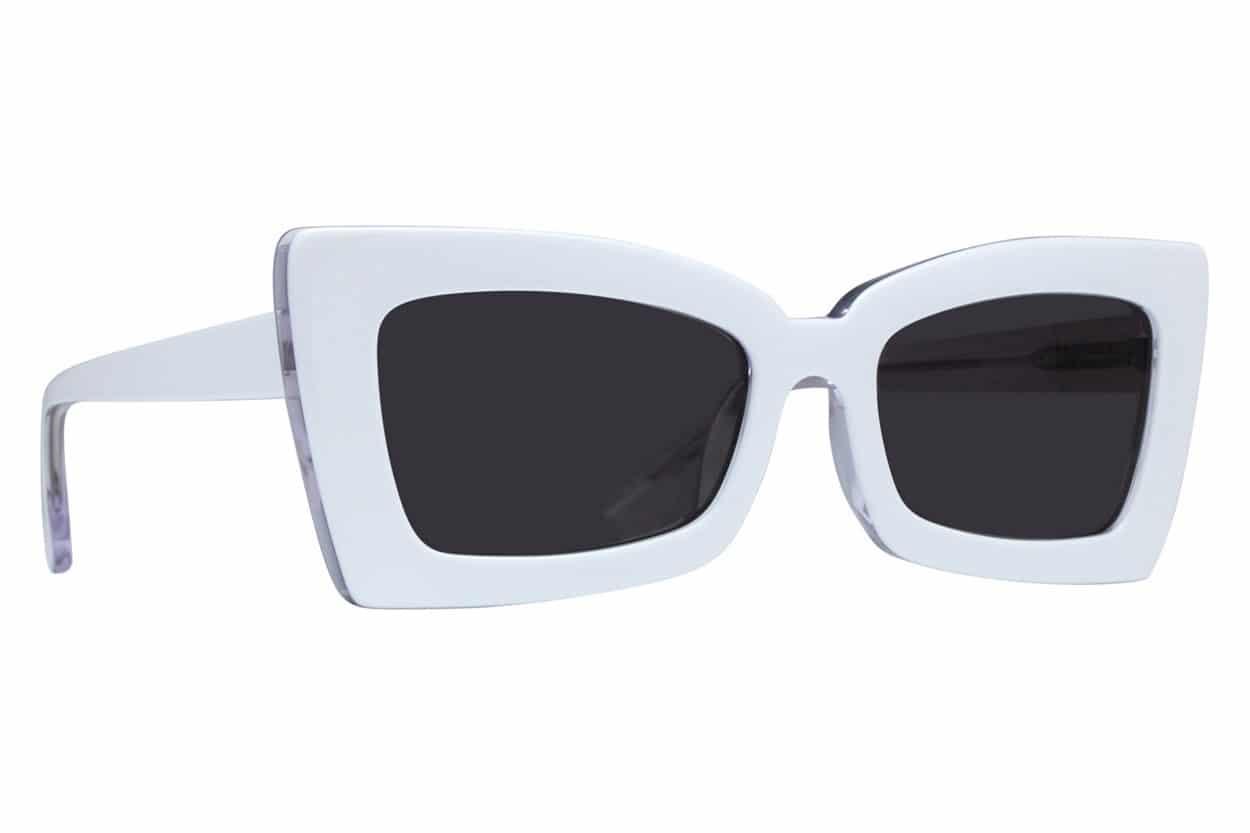 Westend Bexley  Frame/Lens: White/Grey