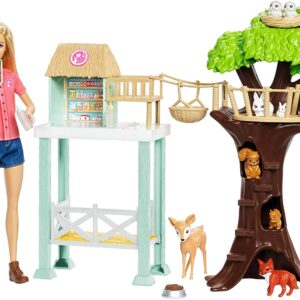 Barbie Doll and Animal Rescue Center