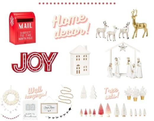 Target Holiday Home Decor Haul