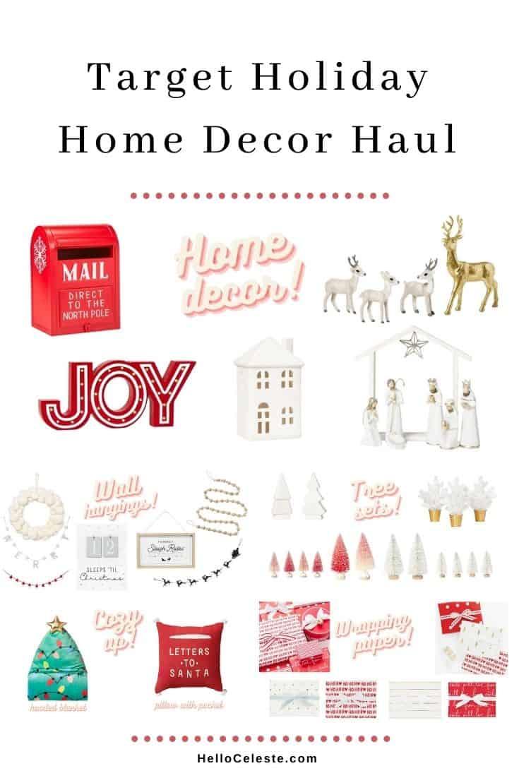 Target Holiday Home Decor Haul