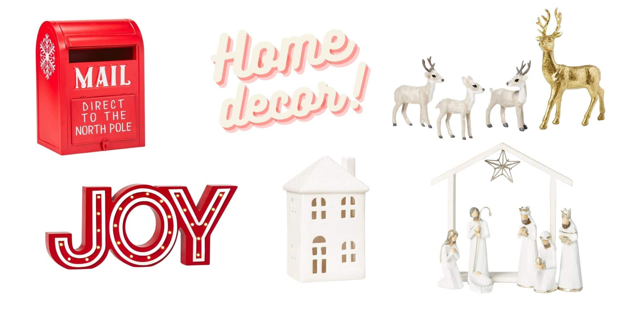 Target Holiday Home Decor
