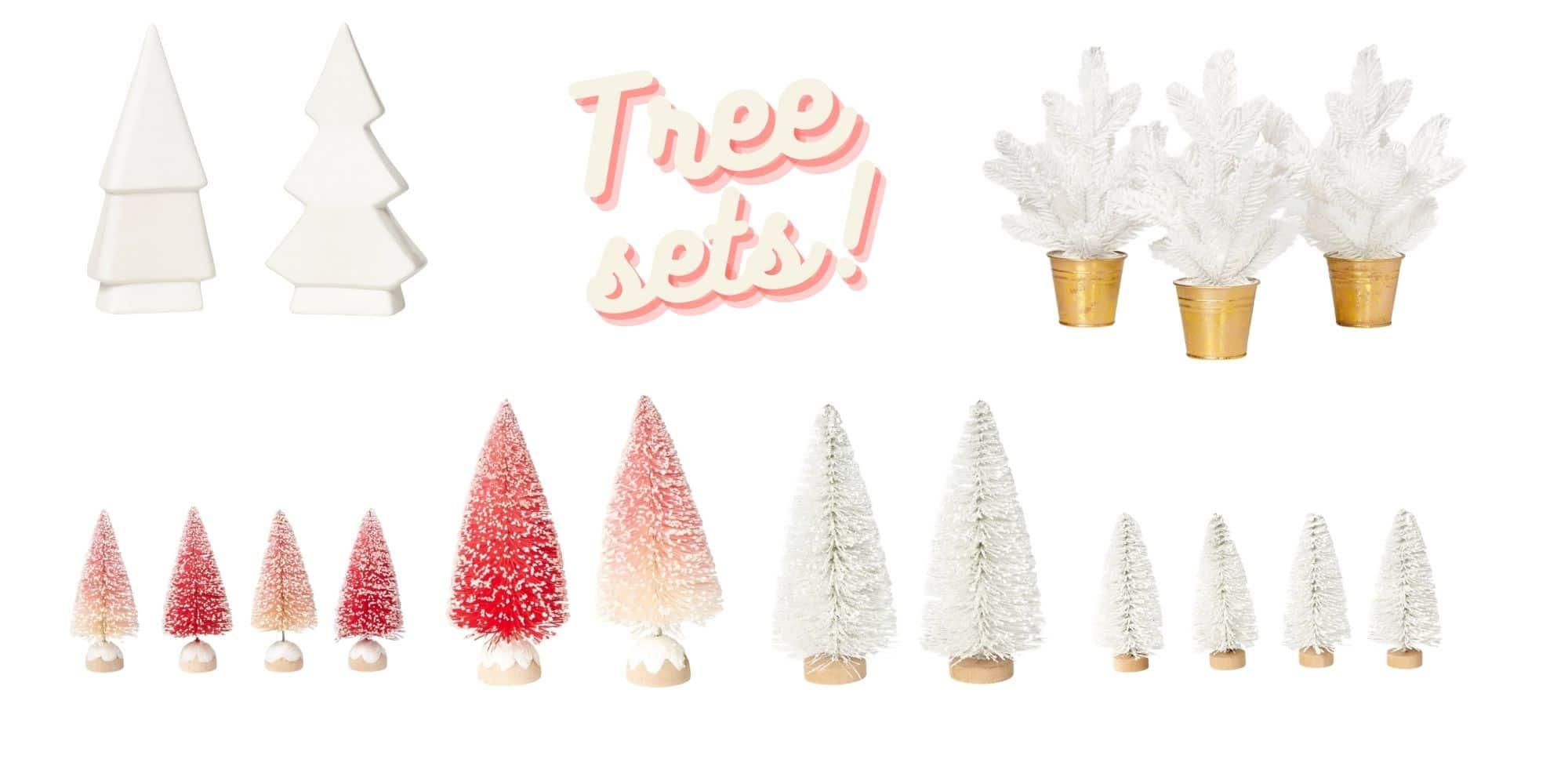 Target Holiday Tree sets