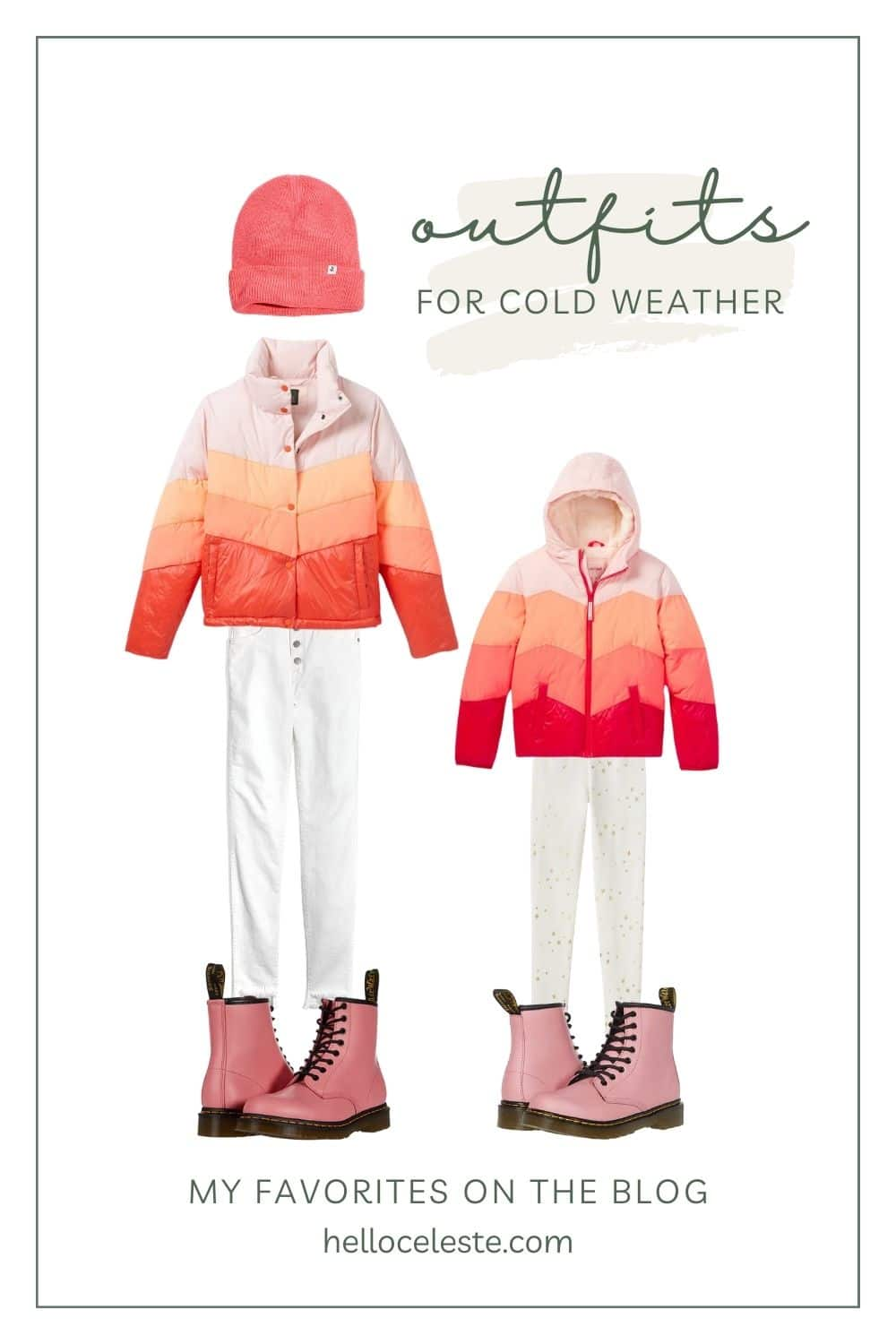 outfits for cold weather favorites