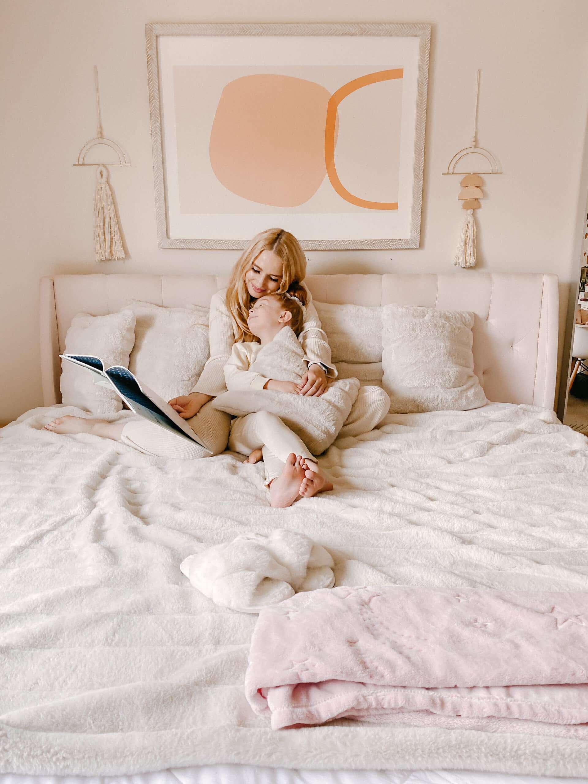 Celeste Wright bedroom Cozy Bliss