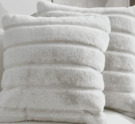 Faux Fur Fleece Pillow Covers