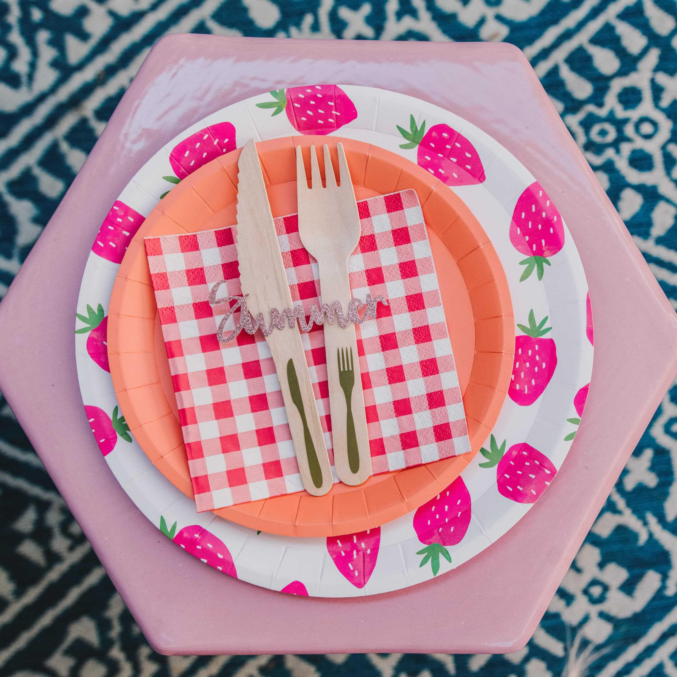Summer Picnic   Using The Cricut Joy