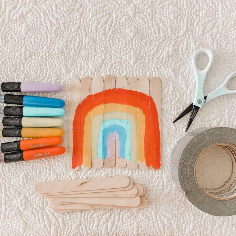 Craft Stick Art Easy Steam Activities