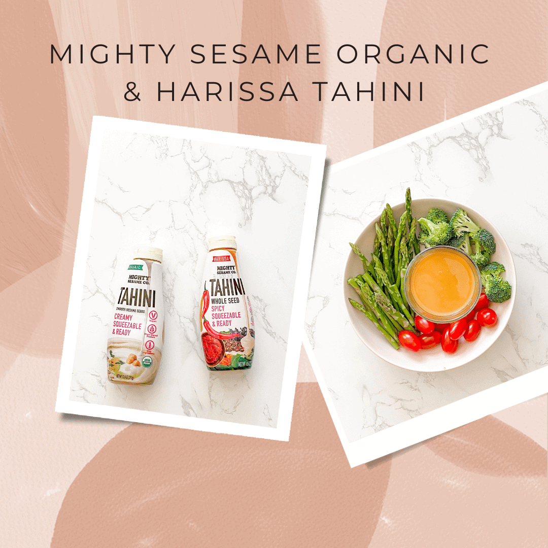 Mighty Sesame Organic & Harissa Tahini
